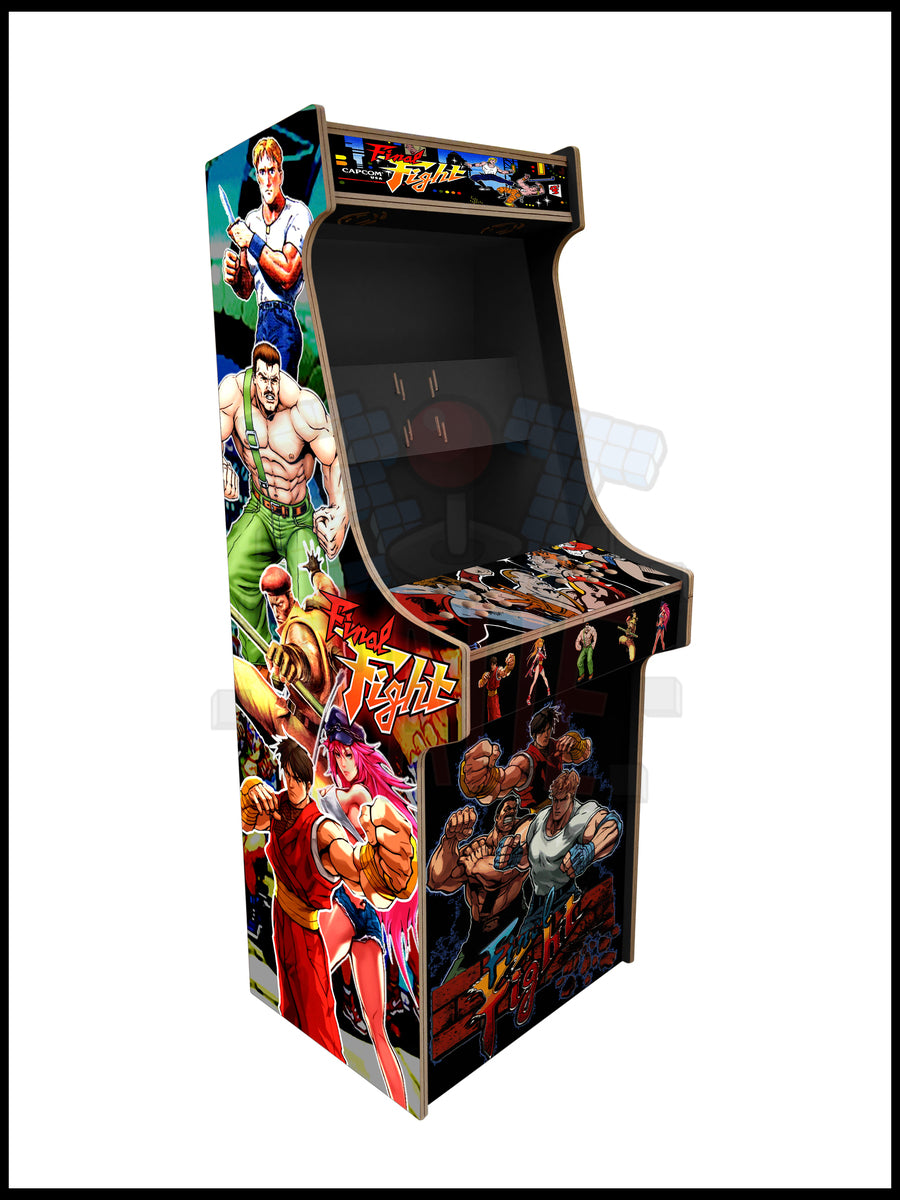 Final Fight Artwork - 2 Player Full Size Cabinet