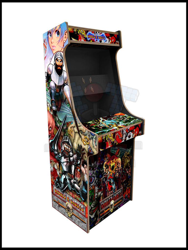 Ghost n Ghouls Artwork - 2 Player Full Size Cabinet