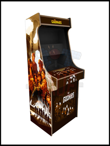 Goonies Artwork - 2 Player Full Size Cabinet