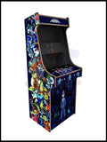 Megaman Artwork - 2 Player Full Size Cabinet