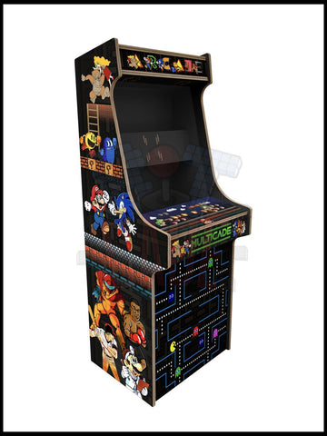 Multicade Artwork - 2 Player Full Size Cabinet