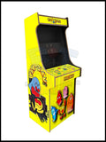 Pacman Artwork - 2 Player Full Size Cabinet