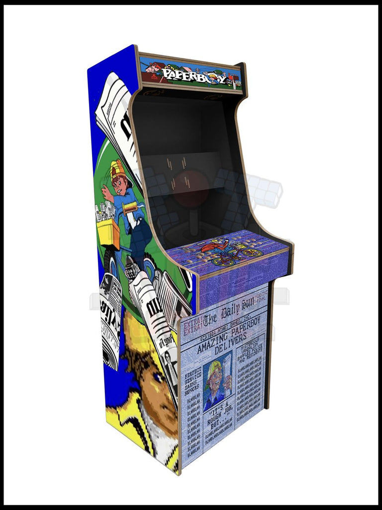 Paperboy Artwork - 2 Player Full Size Cabinet