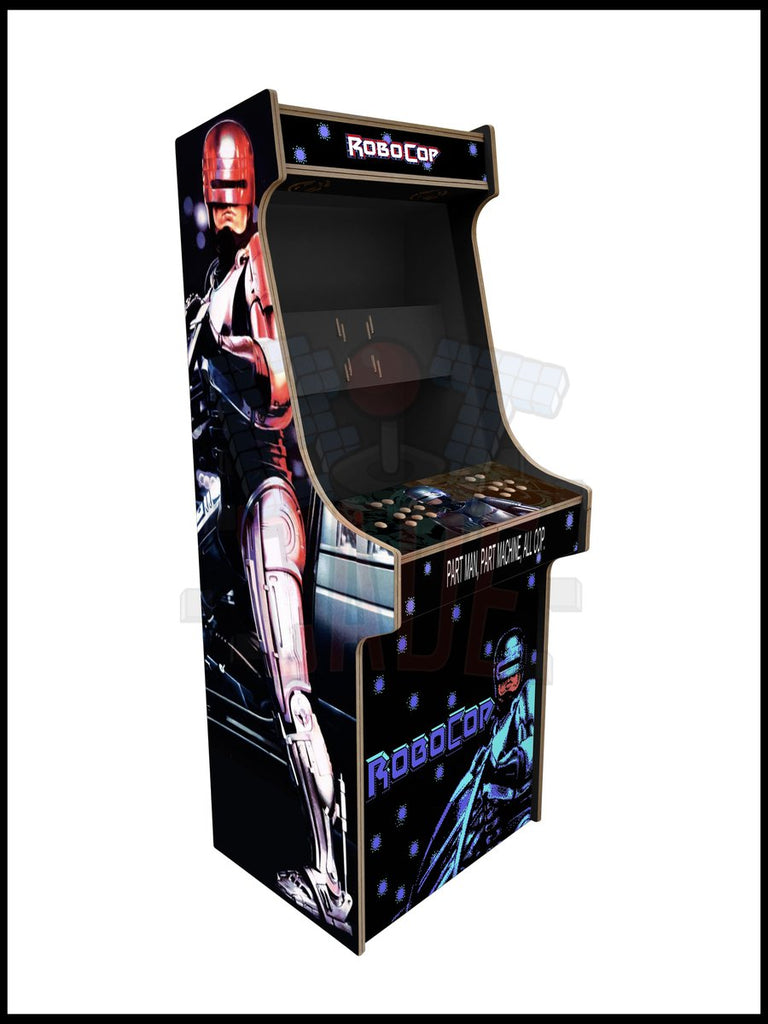 Robocop Artwork - 2 Player Full Size Cabinet