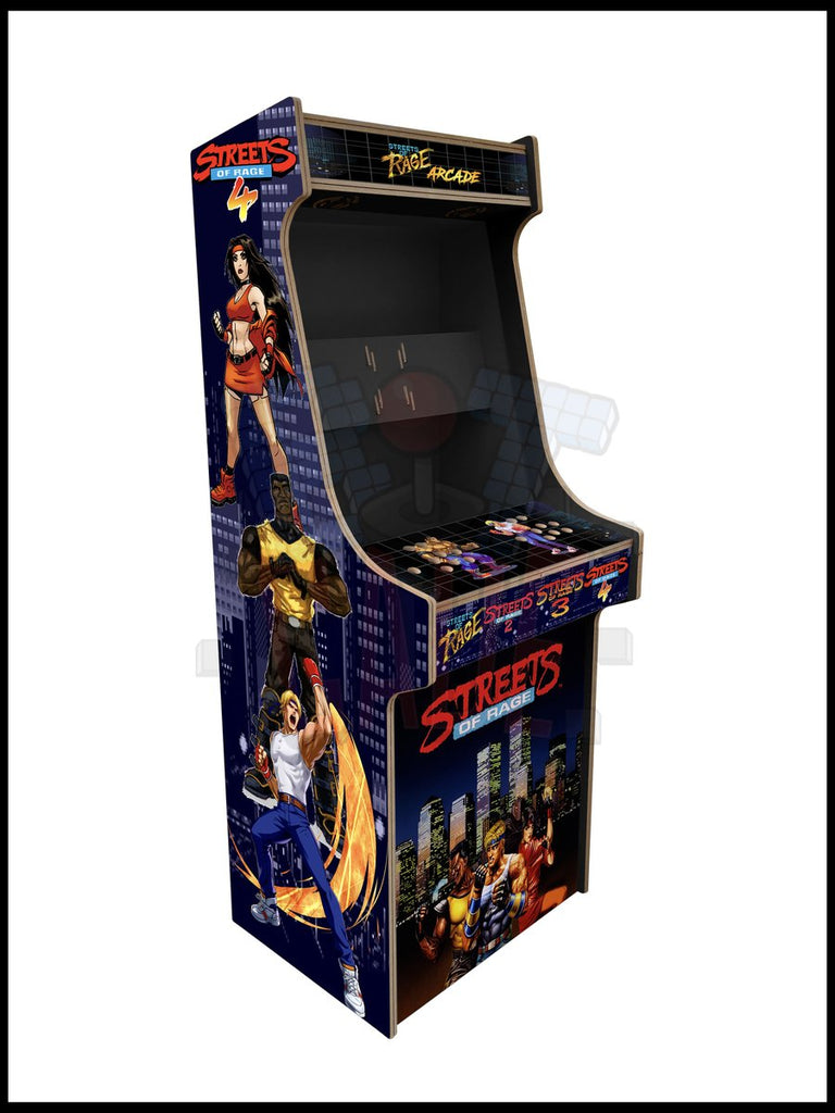 Street Of Rage Artwork - 2 Player Full Size Cabinet