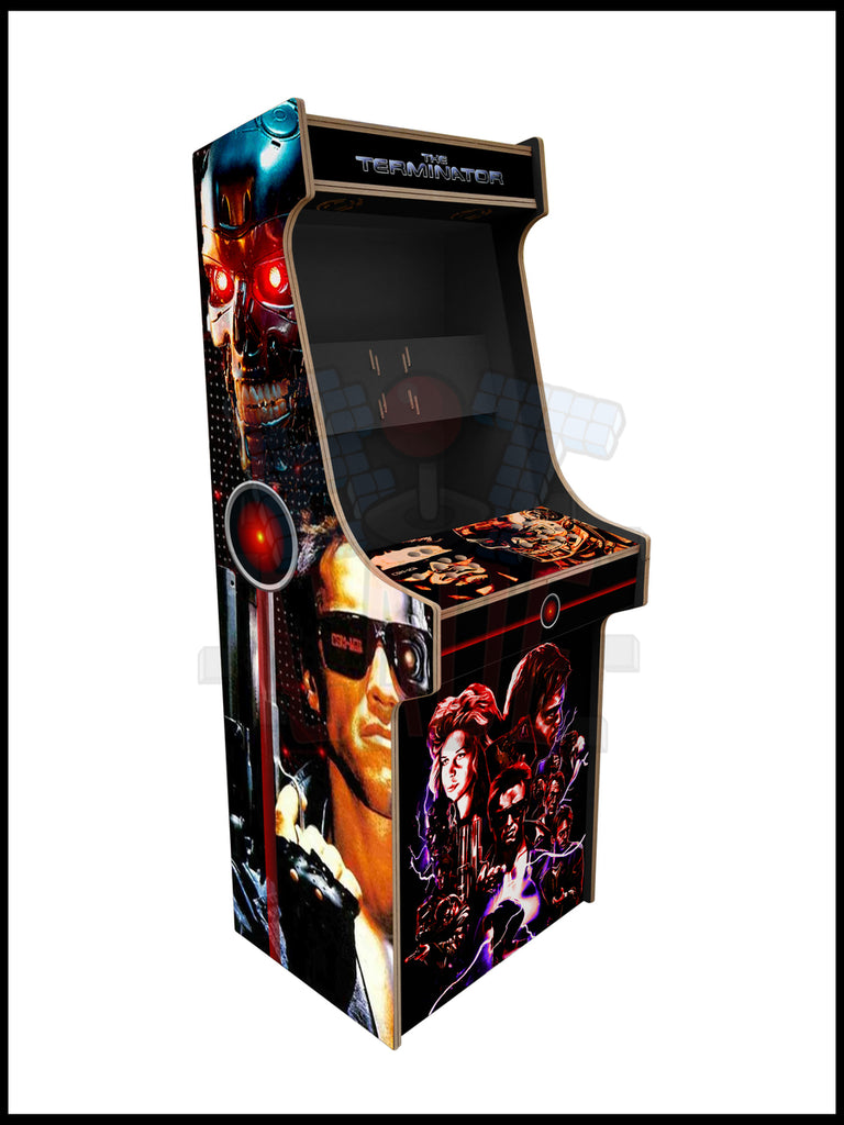 Terminator Artwork - 2 Player Full Size Cabinet