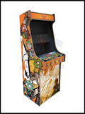 Wonderboy Artwork - 2 Player Full Size Cabinet