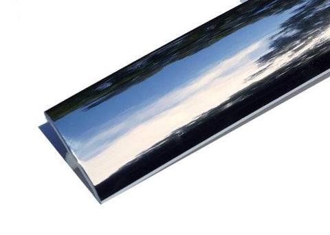 Chrome T moulding