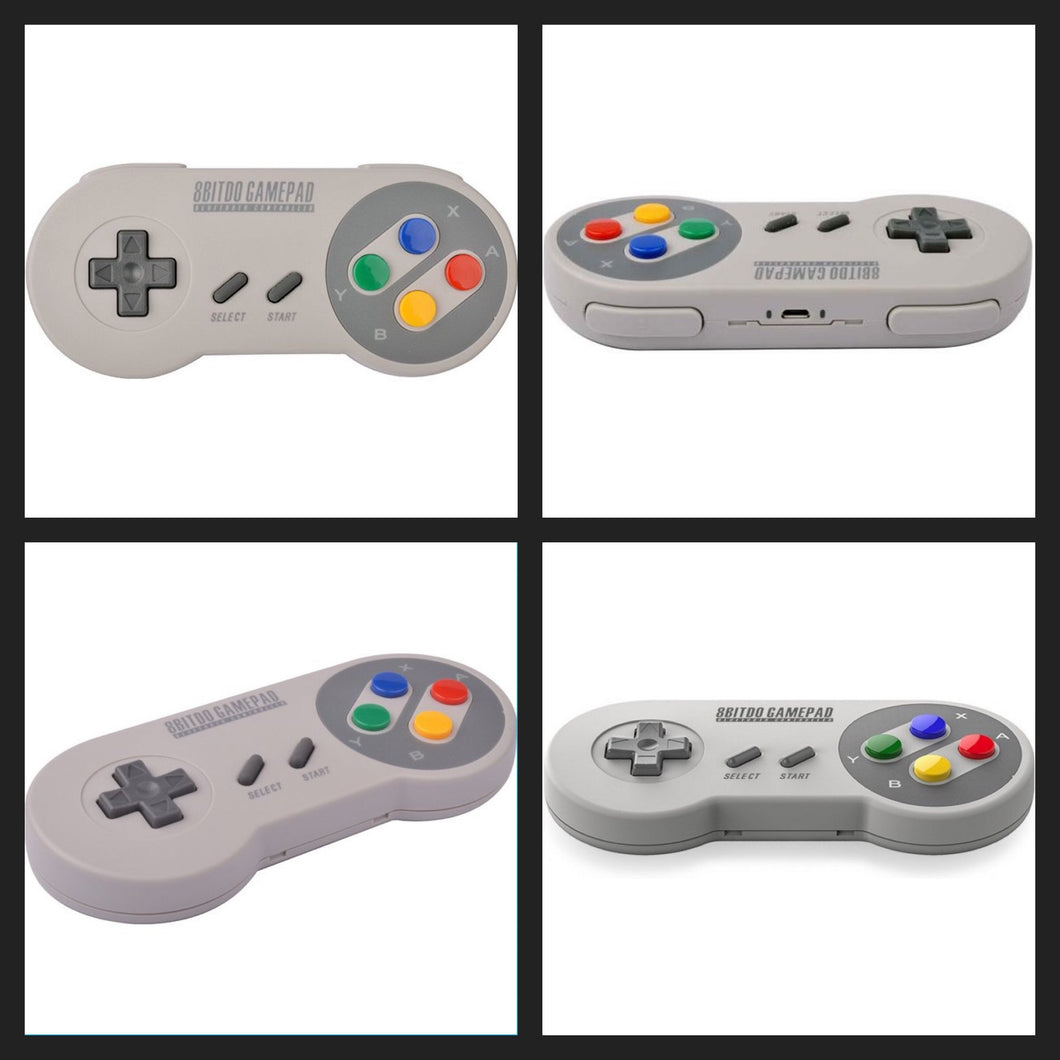8Bitdo SFC30 Bluetooth SNES Controller