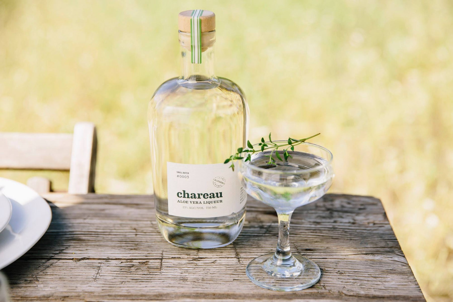Chareau California Aloe Liqueur - Free Tasting, October 12