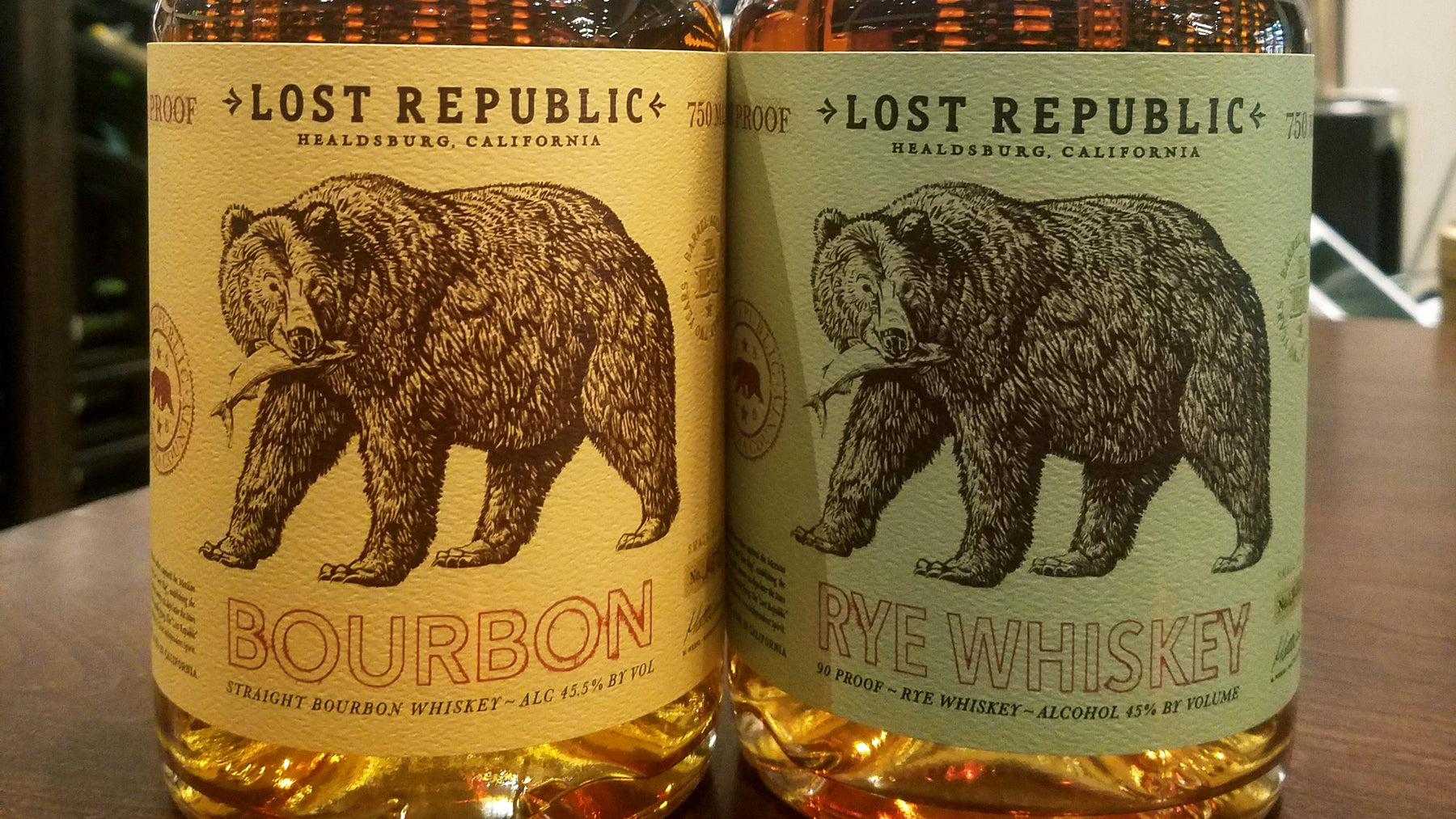 Lost Republic Whiskey | Free Tasting Friday, August 2nd 5-7pm