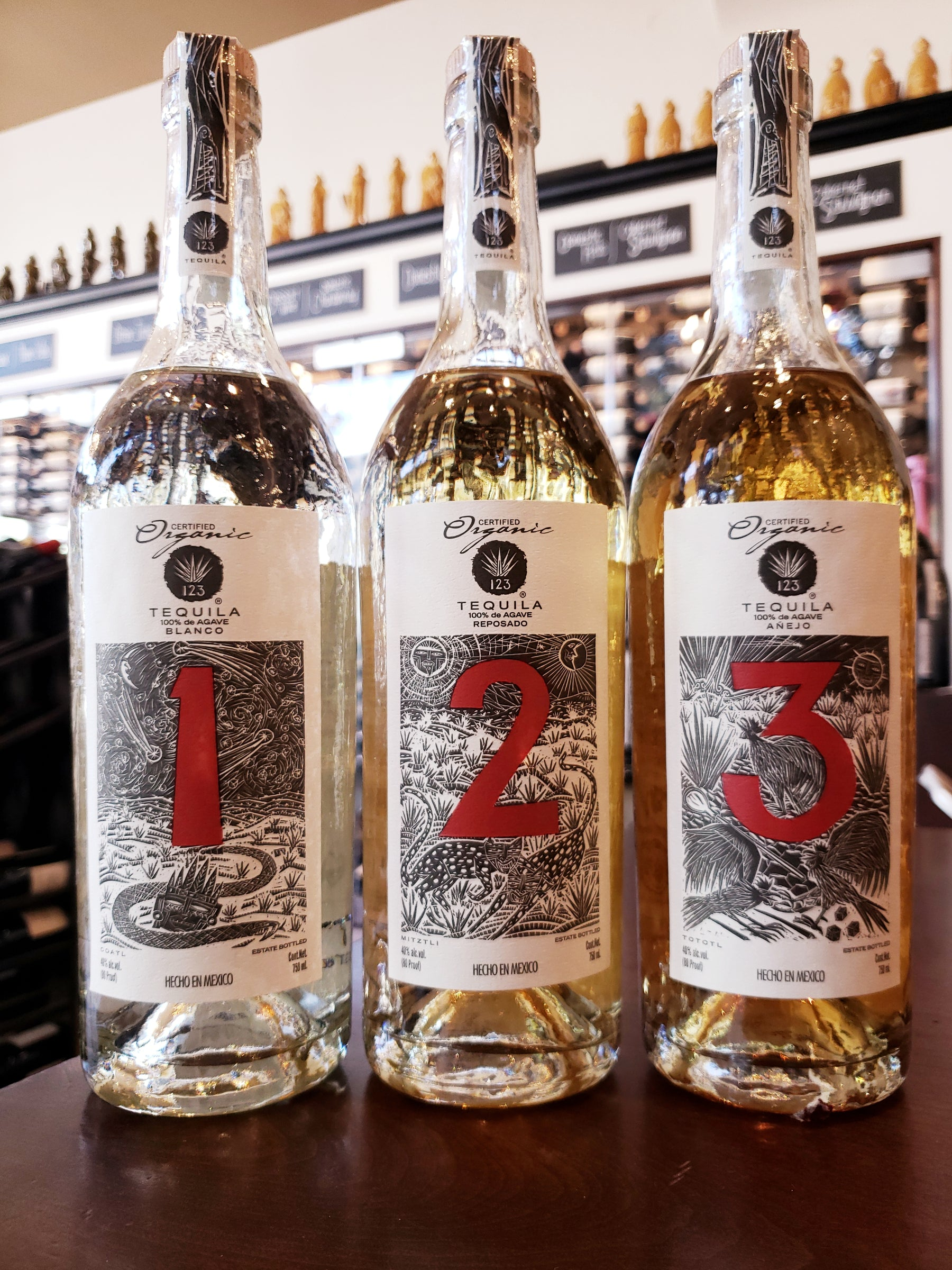 Uno, Dos, Tres Tequila | Free Tasting Friday, November 1st 5-7pm