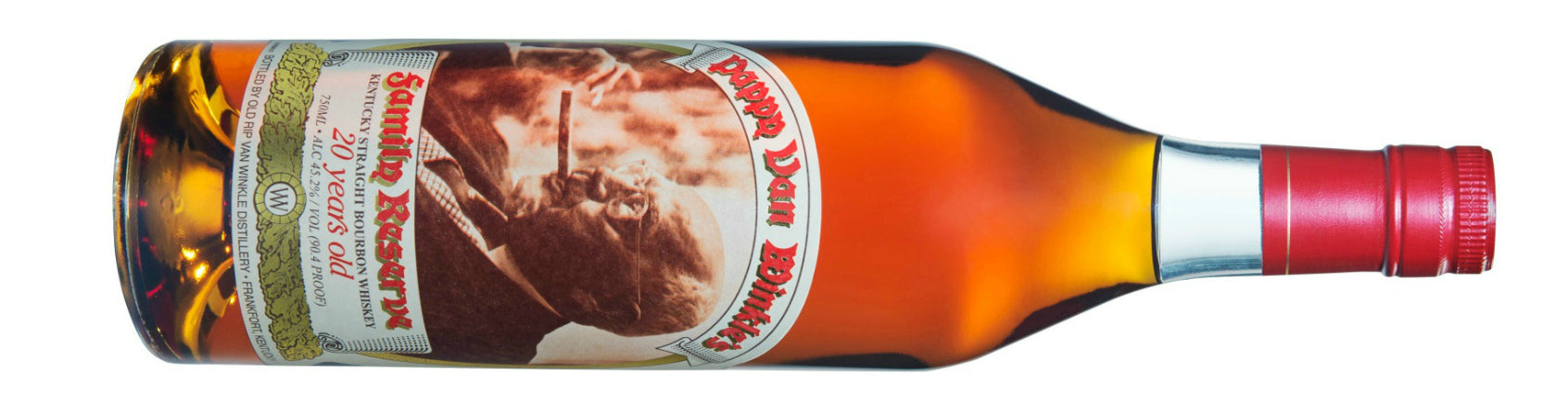 Pappy Van Winkle Family Reserve 20 year bourbon