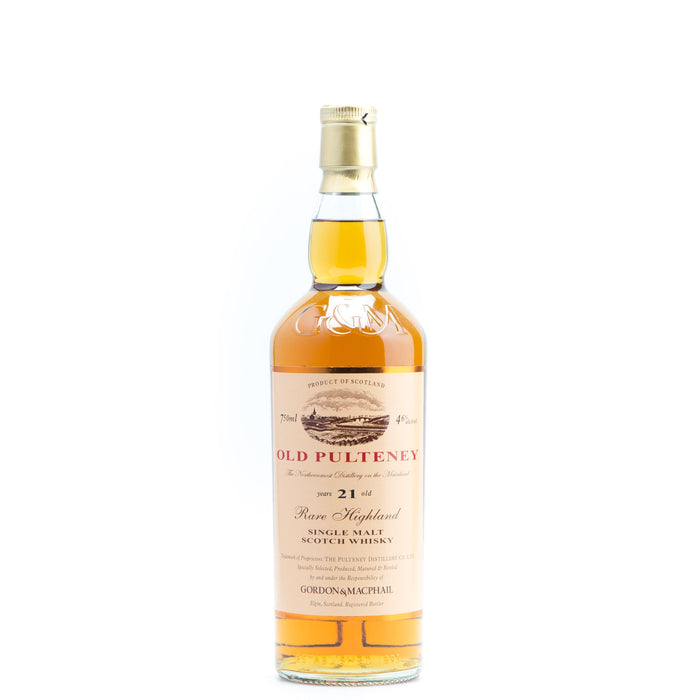 Old Pulteney 21 Year Gordon & MacPhail