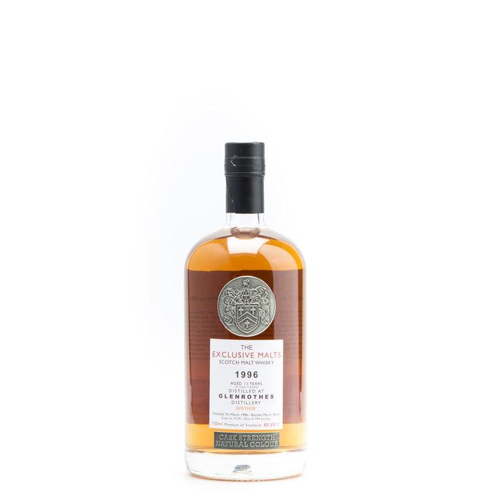 Glenrothes 1996 18 Year Exclusive Malts