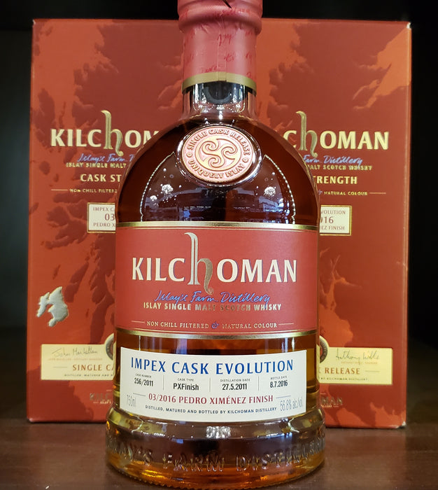 Kilchoman ImPex Cask Evolution 03/2016 - PX Finish