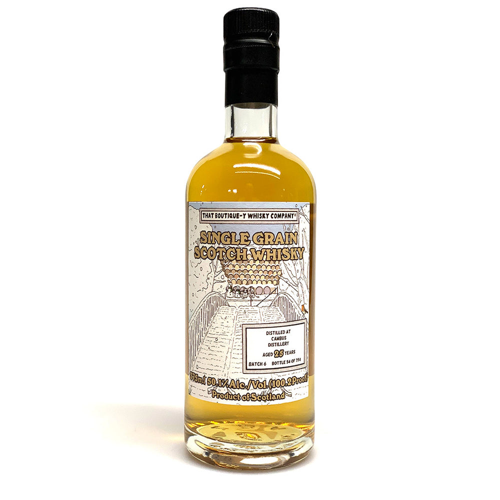 "Cambus ""That Boutique-y Whisky Company"" 25 Year Old Batch #6 - 375mL"