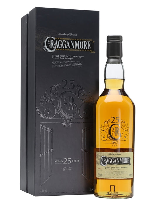 Cragganmore 25 Year Old