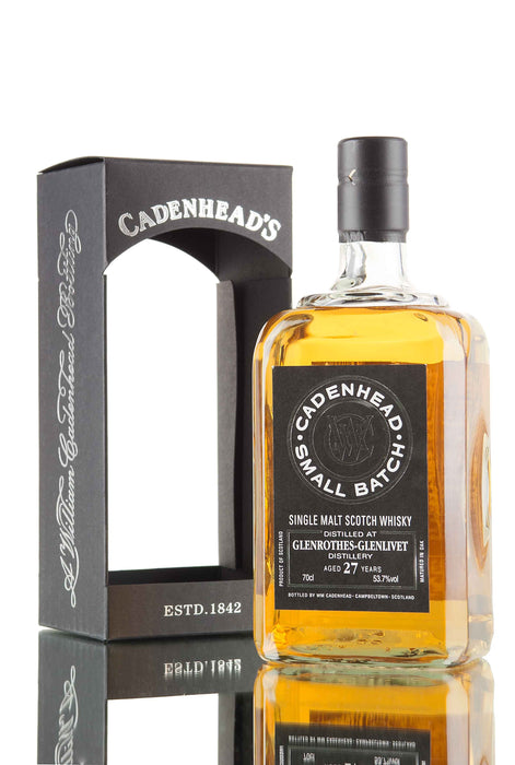 Dalmore 1989 27 Year Cadenhead Cask Strength