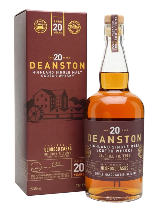 Deanston 20 Year Old Oloroso Sherry Cask