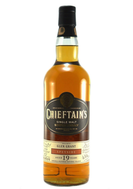 Glen Grant 1997 19 Year Chieftain's