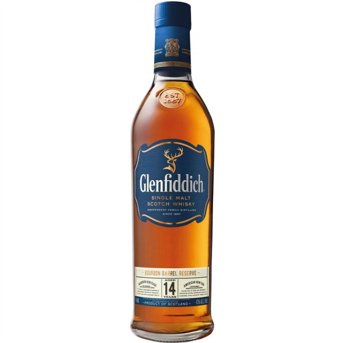 Glenfiddich 14 Bourbon Barrel Reserve