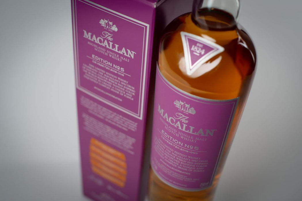 Macallan Edition No. 5 – Pre-Arrival