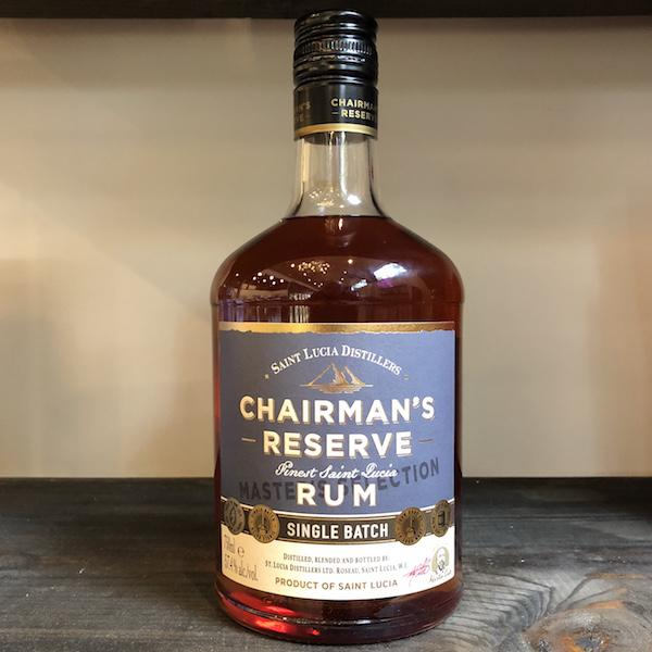 Chairman's Reserve Rum - Martin Cate Selection