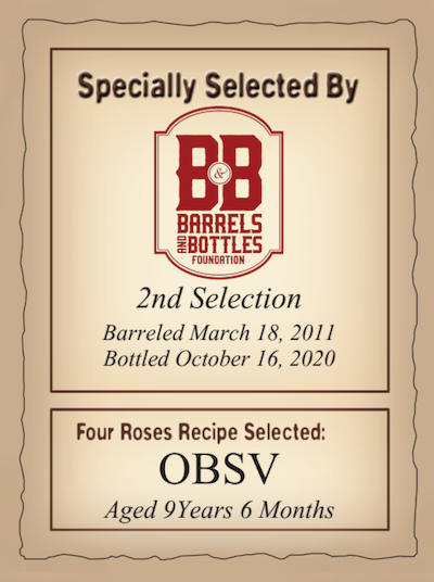 Barrels & Bottles Foundation - Four Roses OBSV & Russell's Reserve 2-Pack