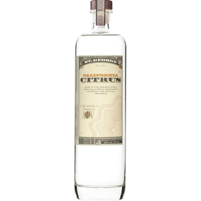 St. George California Citrus Vodka