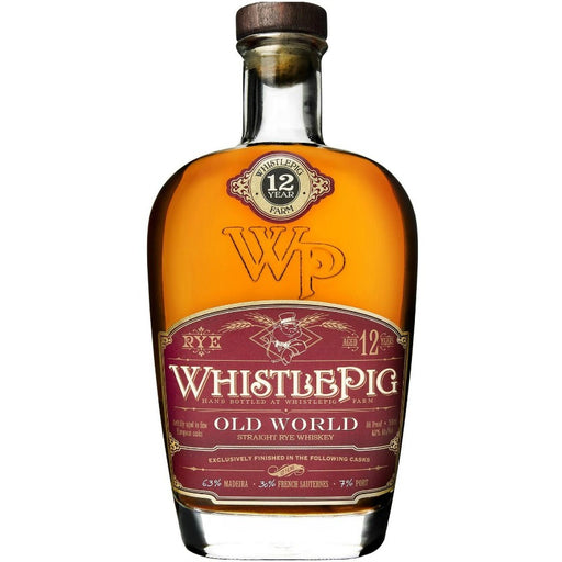 WhistlePig Old World Cask Finish