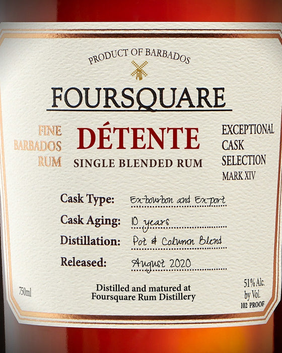 Foursquare Detente Mark XIV Rum