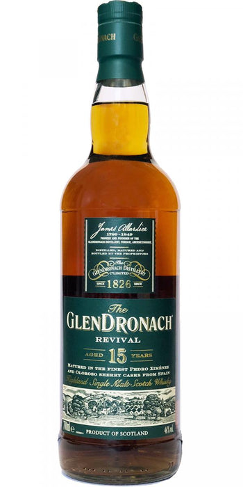 "Glendronach 15 ""The Revival"" - Newer Batch"