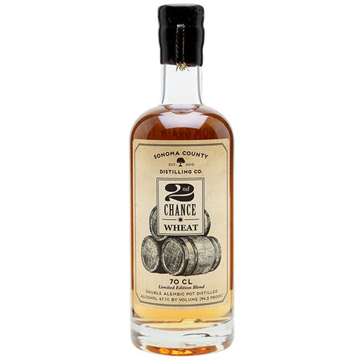 2nd Chance Wheat Whiskey 750