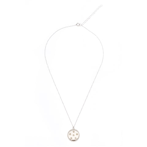 Star Disk Necklace