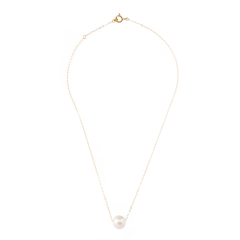 Pearl on Chain Necklace