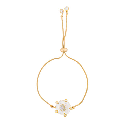 Flower Adjustable Bracelet