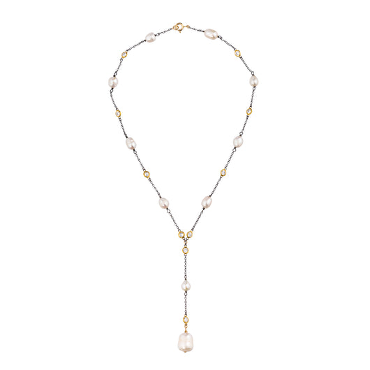 The Teardrop Pearl Necklace