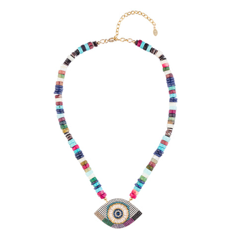 Ibiza Eye Necklace