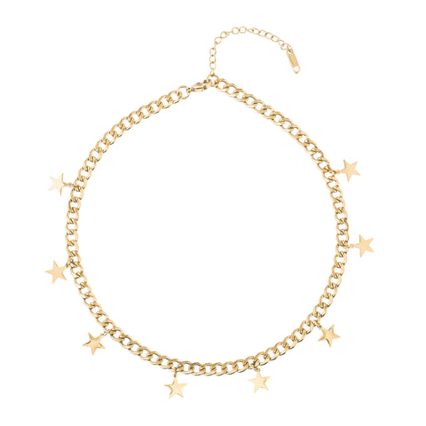 The Star Chain Necklace - Sold Out