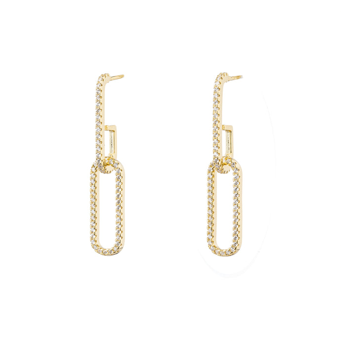 The Double Link Earring