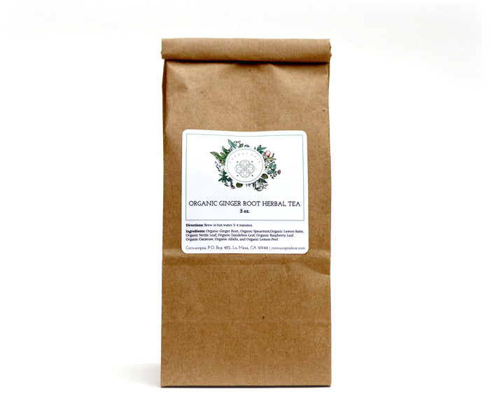 Organic Ginger Root Herbal Tea - Cornucopia Cancer Care Packages