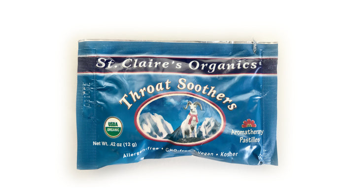 St. Claire's Organics Throat Soothers