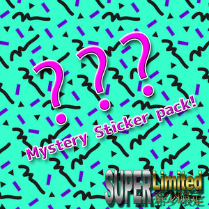 Mystery Sticker Pack!