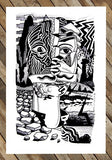 Basco Vazko affordable art print - Braddock Tiles - Full