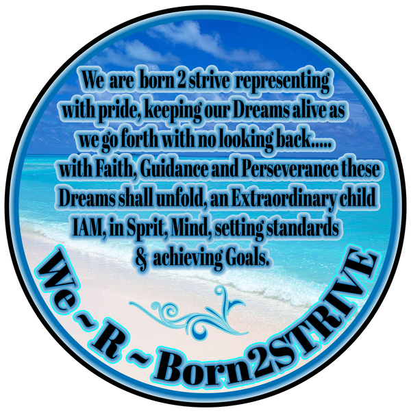 Welcome to WE ARE BORN 2 STRIVE!