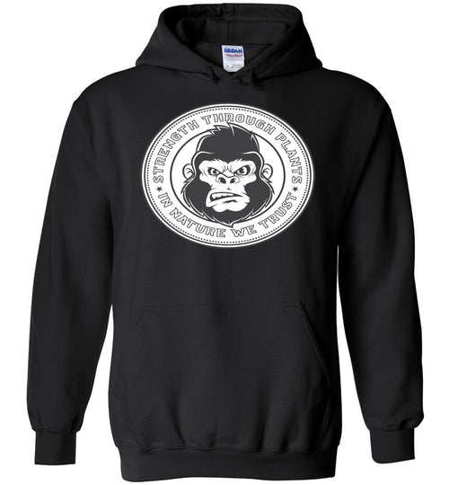 VEGANRILLA BY NATURE COIN HOODIE SWEATER