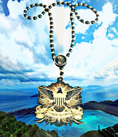 VIRGIN ISLANDS REVERSIBLE NECKLACE!