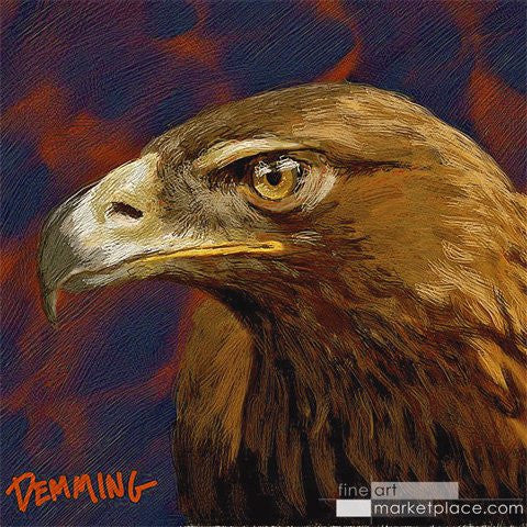 "Limited Edition ""Ready for Battle"" War Eagle Giclee on Museum Quality Heavy Weight Paper"