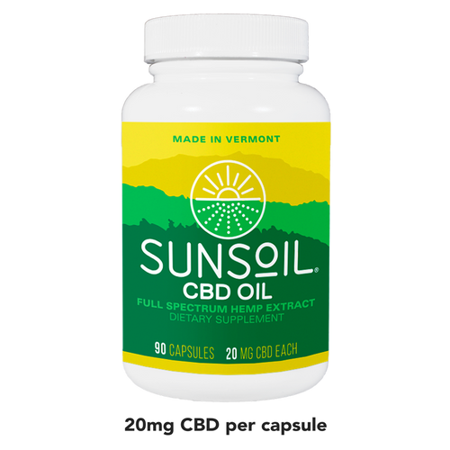 SunSoil 20mg capsules - 90 count